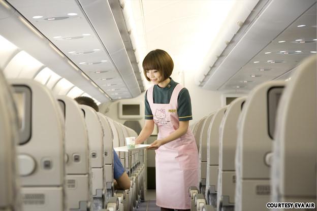 Hello Kitty - EVA Airways (Photos!) (2/6)